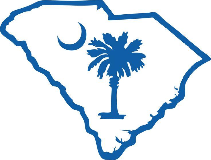 736x557 South Carolina Outline Clipart