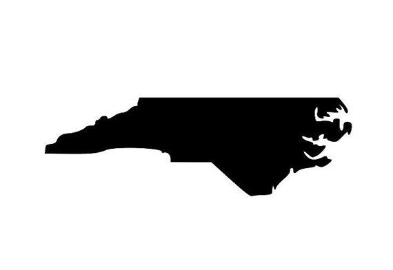 North Carolina State Silhouette
