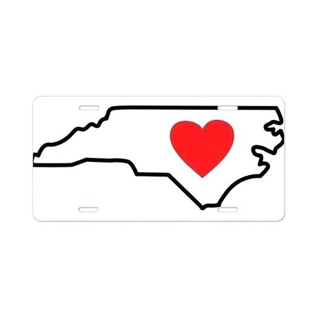 460x460 North Carolina State Outline North Carolina State Outline Tattoo