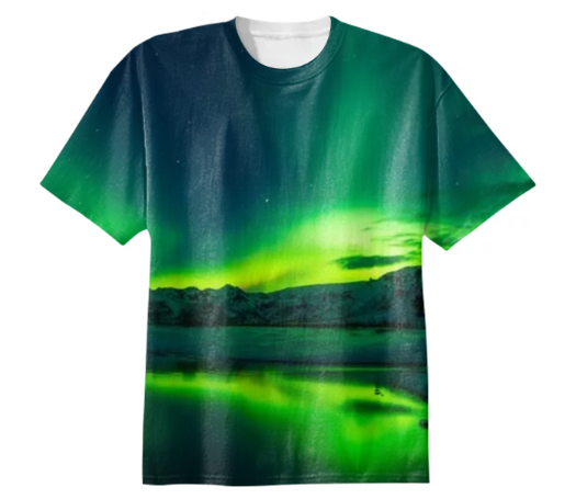 525x455 Shop Spectacular Northern Lights In Iceland Basketball Shorts By