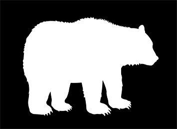 355x258 Bear Silhouette