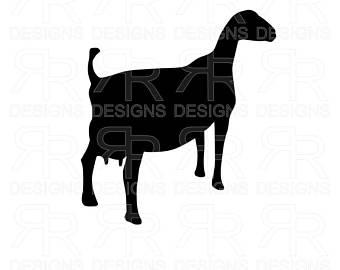 340x270 Dairy Goat Sign Etsy
