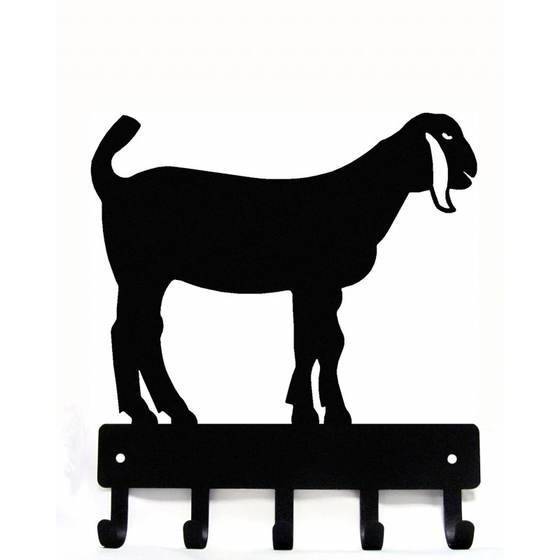 800x800 Nubian Goat Welcome Sign