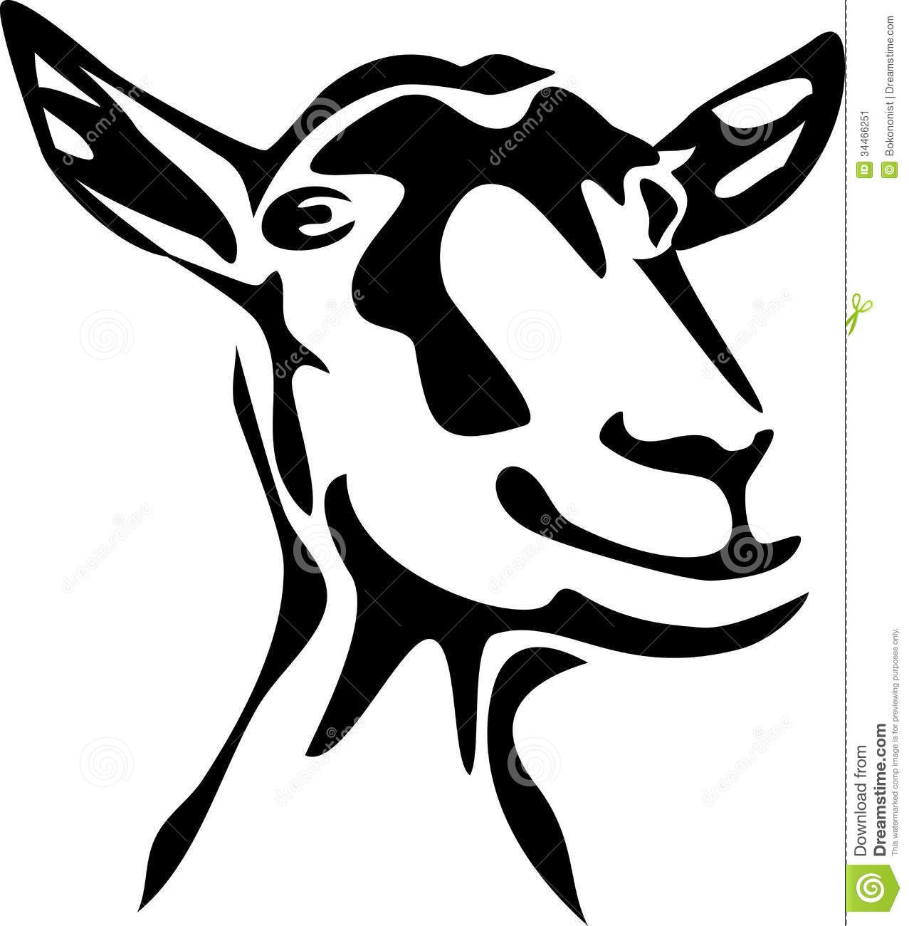 1277x1300 Silhouette Of Goat Stock Photos