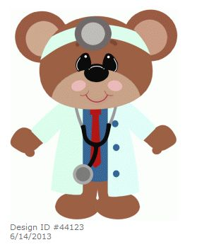 Nurse Silhouette Clipart
