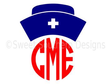 340x270 Nurse Hat Svg Etsy