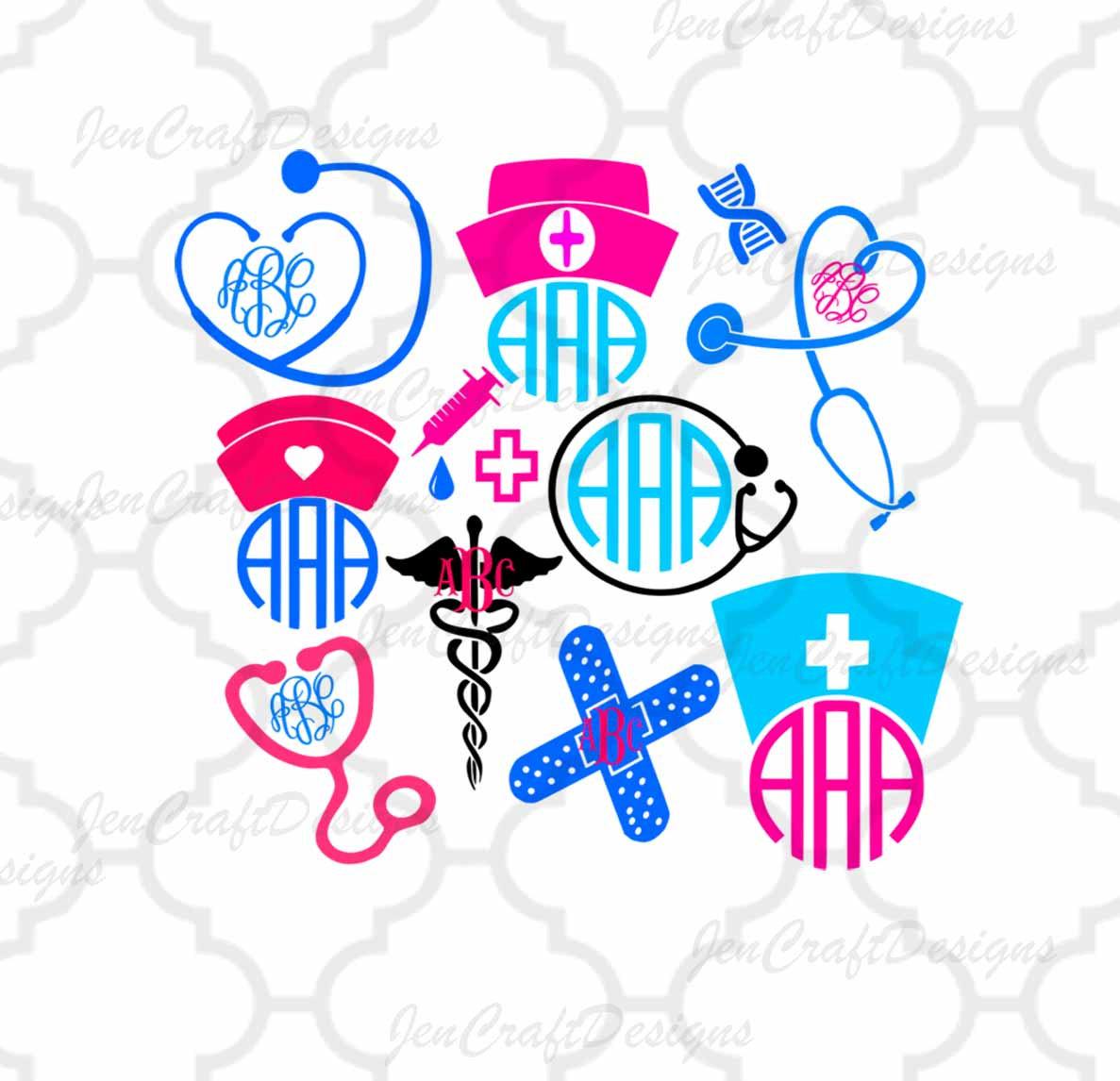 1187x1146 Nurse Svg Stethoscope Svg Nursing Svg Eps Png Dxf, Cut File Set