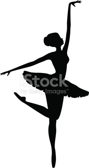 301x568 Energetic Ballerina Dancer Silhouette Dancer Silhouette