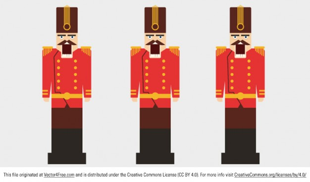 626x369 Red Nutcracker Characters Vector Vector Free Download