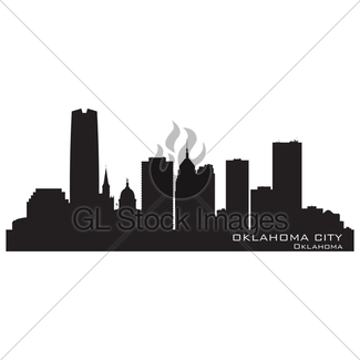 325x325 Kansas City, Missouri Skyline. Detailed Vector Silhouette Gl