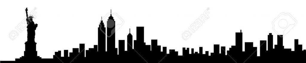 1024x212 New York City Skyline Clipart Plant Clipart