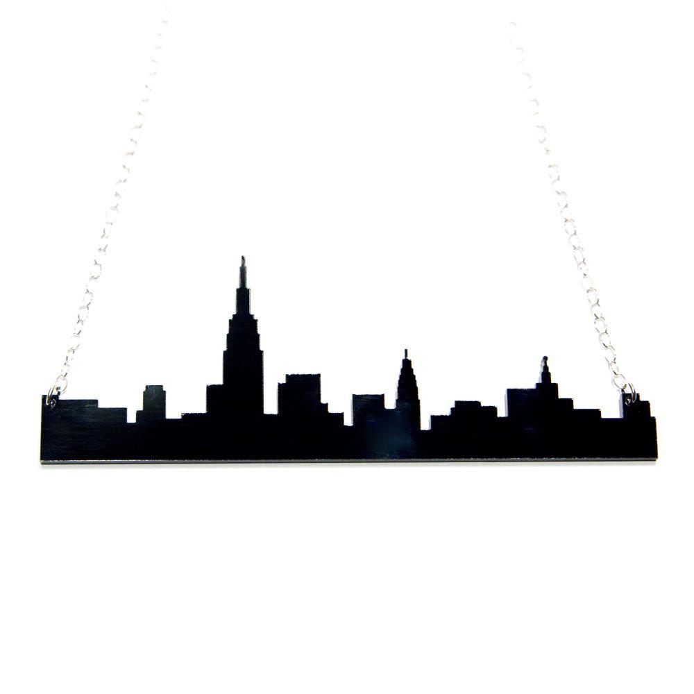 1000x1000 New York City Skyline Necklace