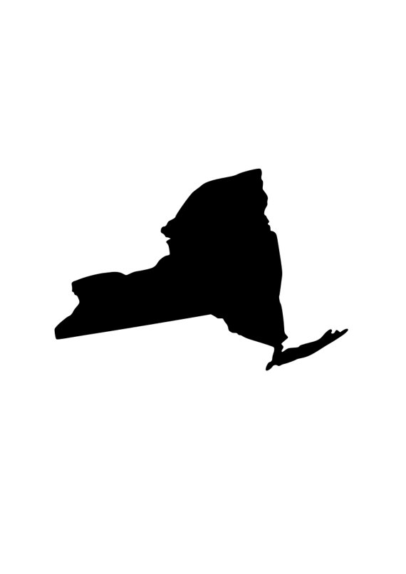 570x806 State Of New York Ny Svg Outline Laptop Cup Decal Svg Digital