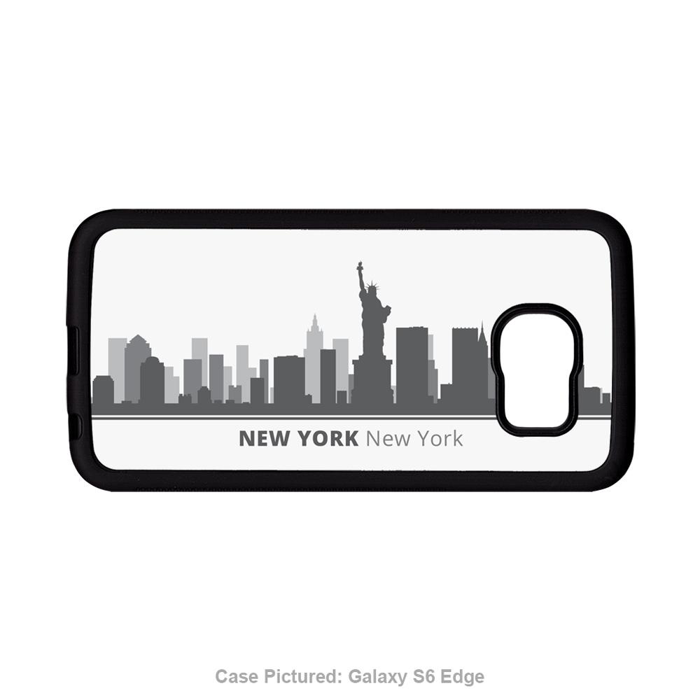 1000x1000 New York Ny Skyline Personalized Samsung Galaxy Case