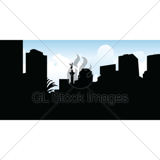 325x325 San Francisco Skyline Gl Stock Images