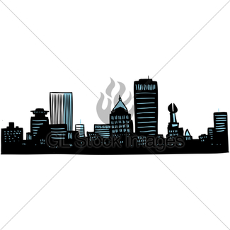 325x325 Cartoon Buffalo, Ny Gl Stock Images