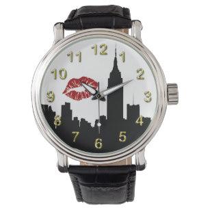 307x307 New York City Skyline Watches Zazzle
