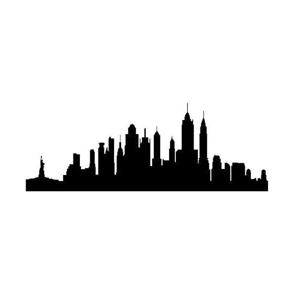 Nyc Silhouette Vector