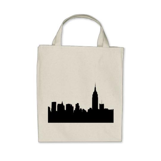 540x540 Nyc Skyline Silhouette, Empire State Bldg