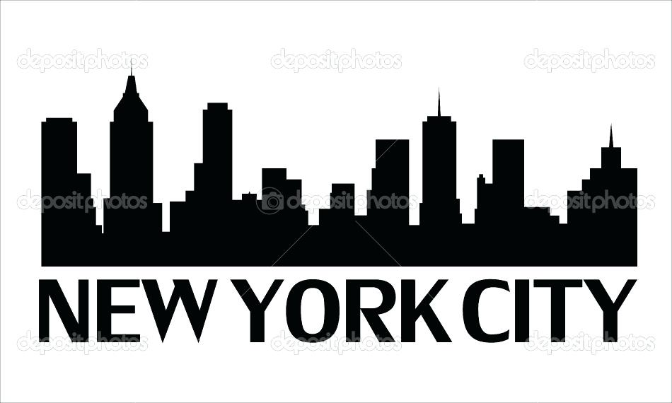 950x570 New York Skyline Silhouette Or Simple New York Skyline Silhouette