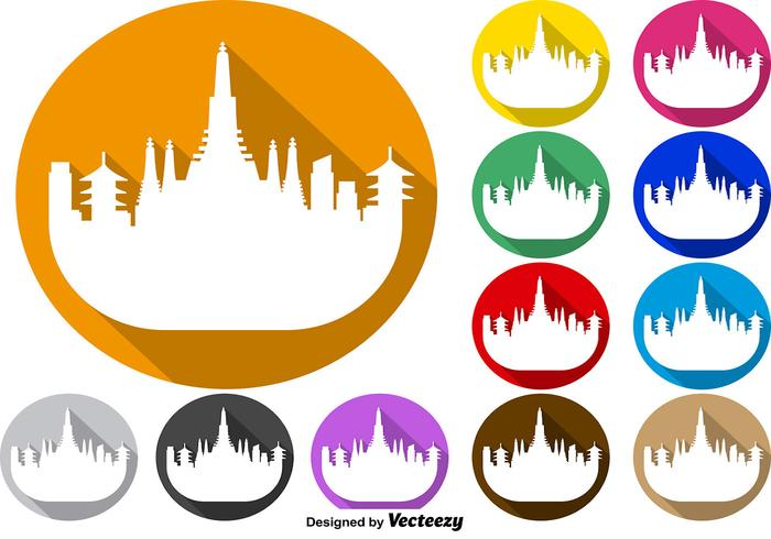 Nyc Skyline Silhouette Vector