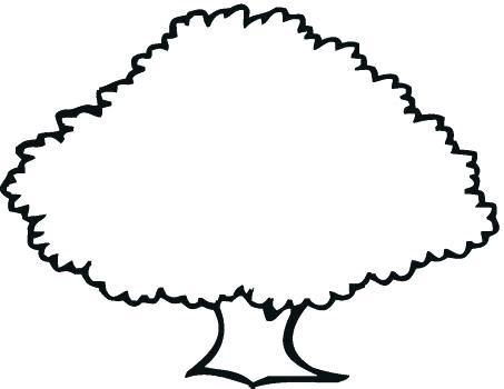 453x350 Oak Tree Outline Oak Tree Silhouette Free Oak Tree Silhouette Clip