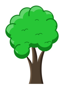 213x300 Oak Tree Silhouette Royalty Free Stock Image