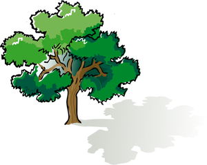 300x239 Live Oak Tree Clip Art