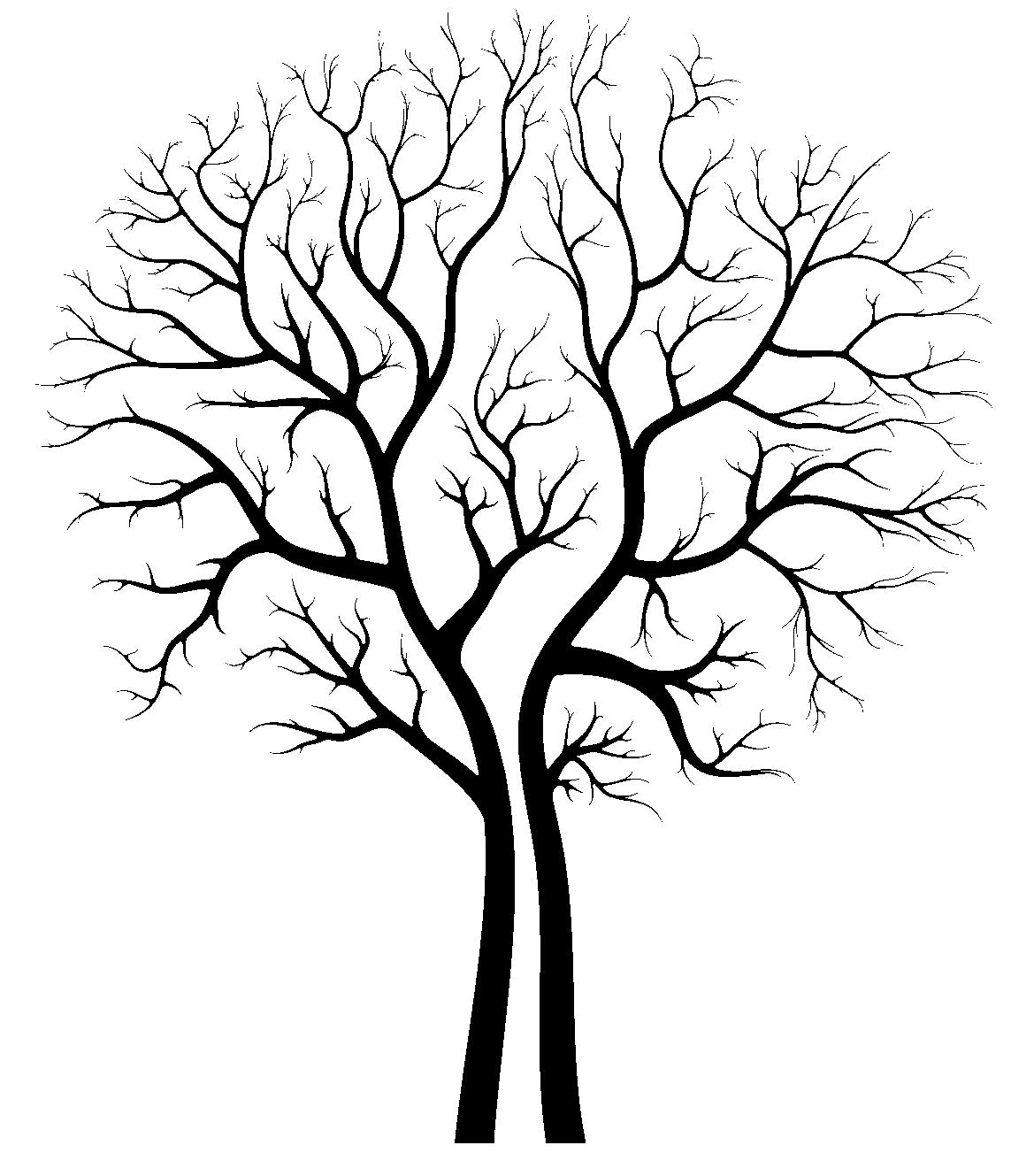 1143x1329 Oak Tree Silhouette Clipart