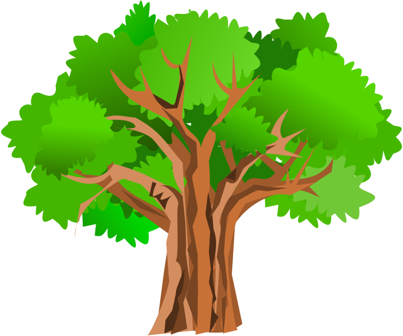 oak tree clip art silhouette at getdrawings com free for personal rh getdrawings com fig tree images clipart tree pictures clip art free