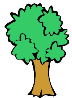 252x344 Clip Art Of Oak Tree 6864 Free Vector Silhouette Public