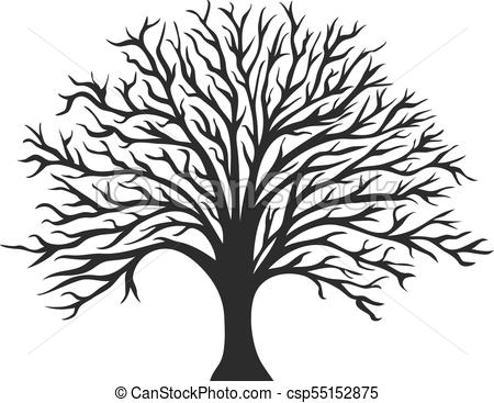 450x367 Oak Tree Silhouette Images And Stock Photos.