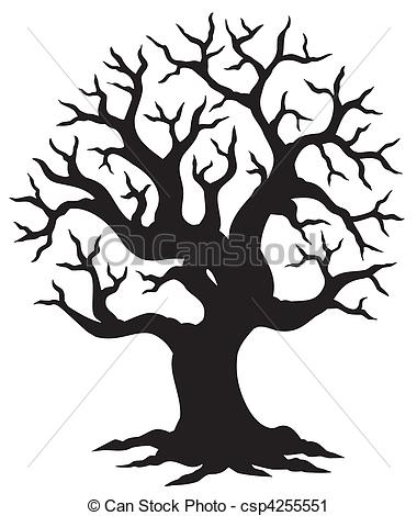 380x470 Hollow Tree Silhouette