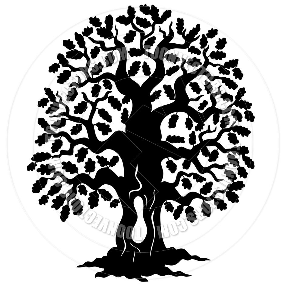 oak tree silhouette clip art free at getdrawings com free for rh getdrawings com