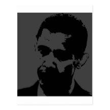 216x216 Obama Silhouette Cards