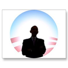 236x236 Obama Sunrise Silhouette Tie Probama Zazzle Stuff