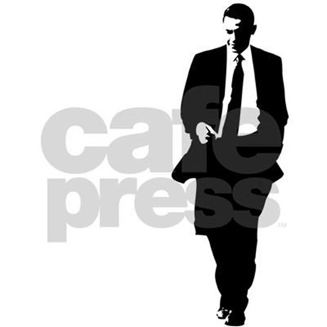 460x460 Big Obama Silhouette Tote Bag By Bigobama