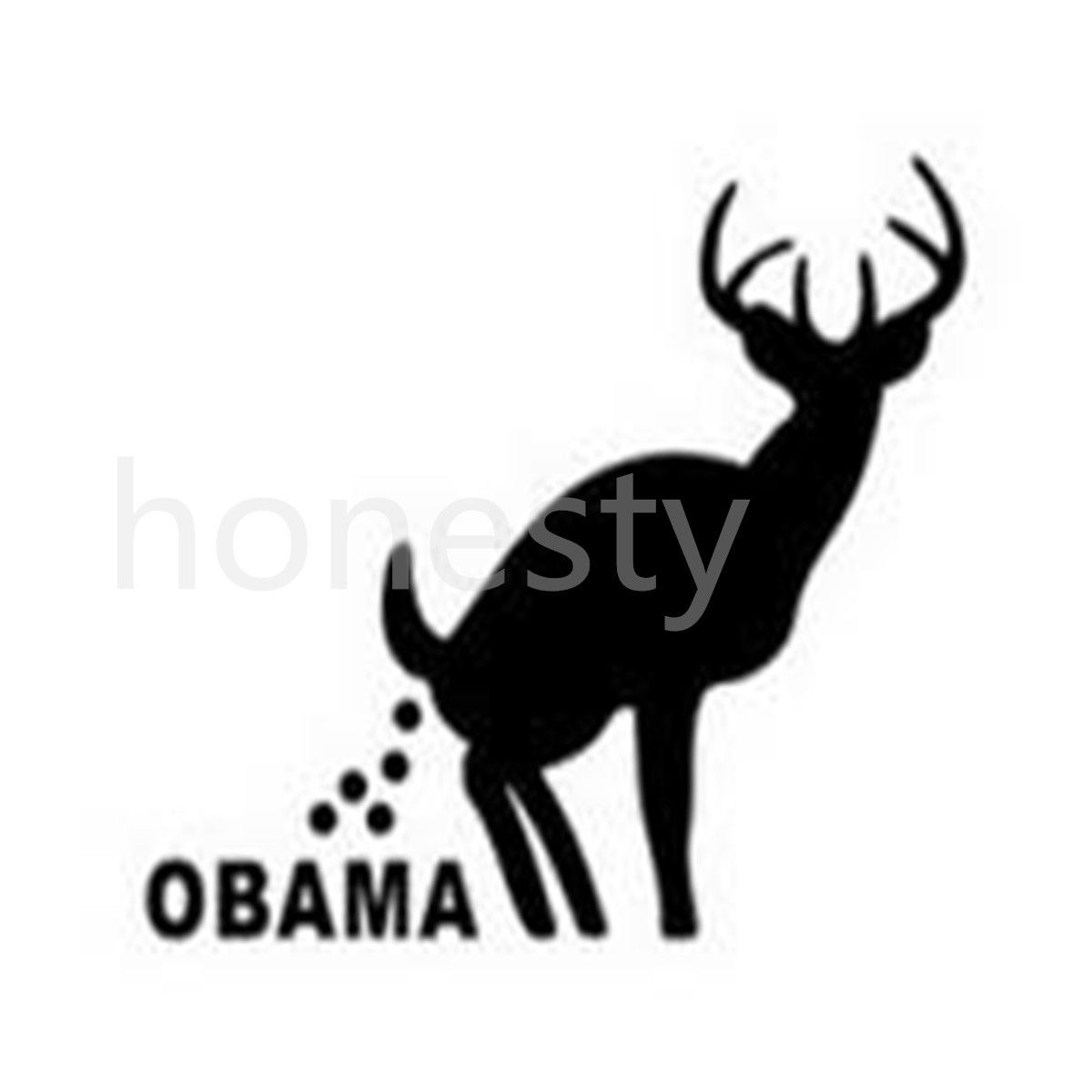 1200x1200 Car Sticker Anti Obama Want My Change Back Poop Funny Obama Funny