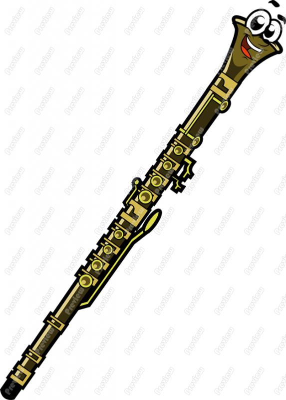 573x800 Fluted Clipart Oboe