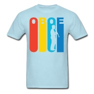 190x190 Oboe Player Silhouette Music T Shirt By Kwg2200 Spreadshirt