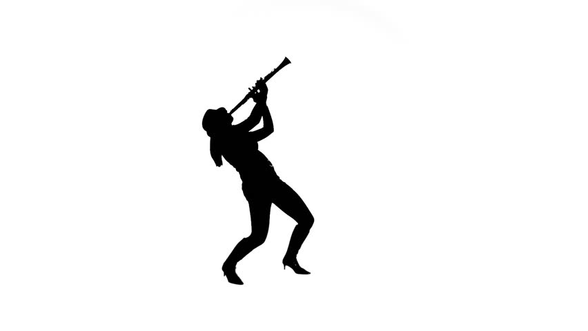 852x480 Rock Drummer In Silhouette Performing Stock Footage Video 4400381