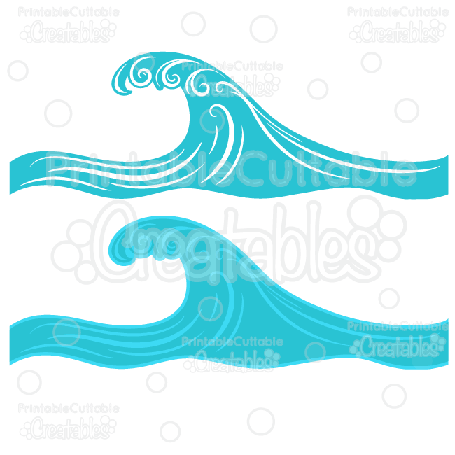 650x650 Swirly Ocean Wave Svg Cut File Border Clipart Ocean Waves