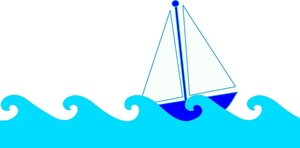 300x148 Wave Clipart Sailboat 4047719