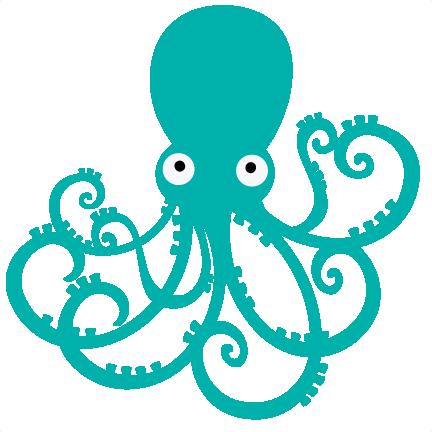 432x432 Octopus Svg File For Scrapbooking Octopus Svg Cut Octopus Cutting