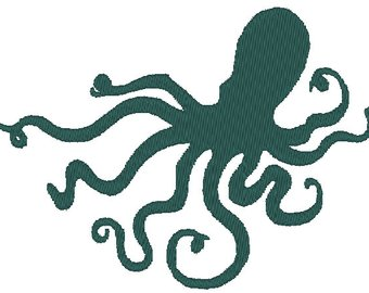 340x270 Octopus Silhouette Etsy