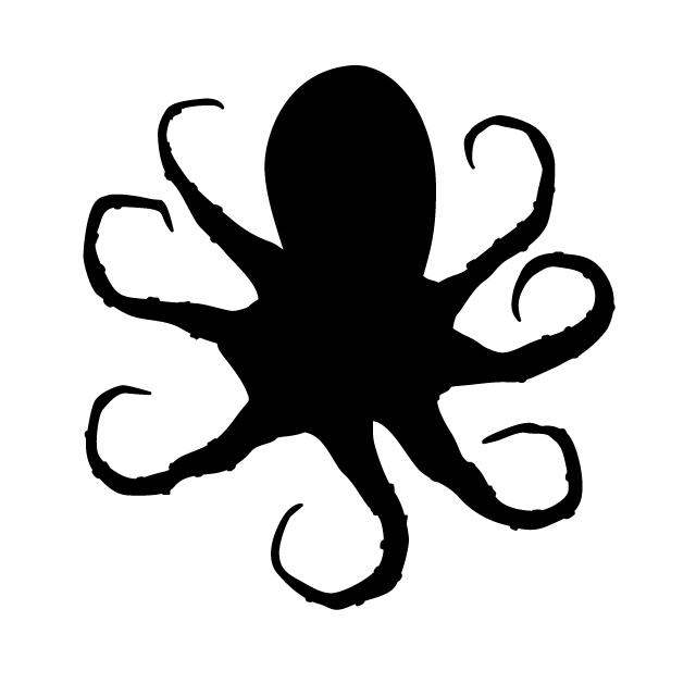640x640 Octopus Animal Silhouette Free Illustrations