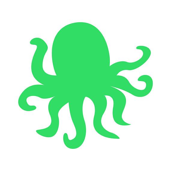 570x570 Octopus Clipart, Colorful Octopus Clip Art, Svg Octopus , Octopus