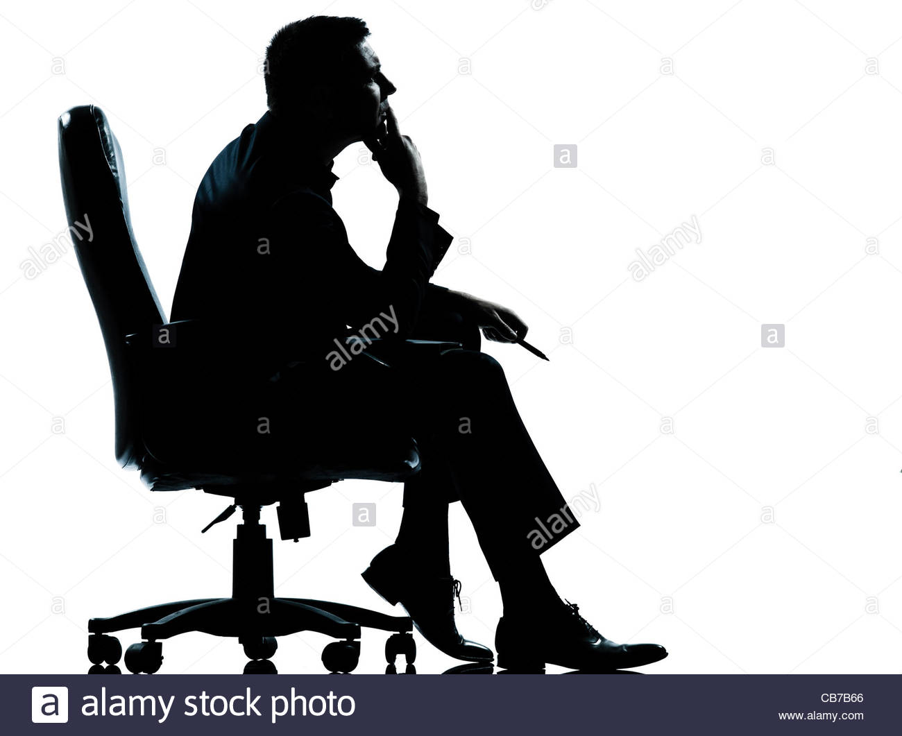 1300x1061 Man Silhouette Chair Stock Photos Amp Man Silhouette Chair Stock