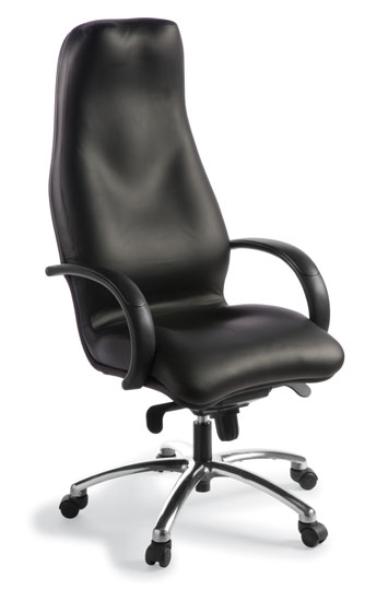 355x540 Silhouette High Back Chair Leather Executive Or Board Room Chair
