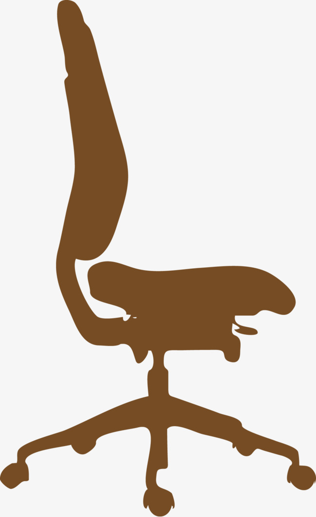 650x1064 Boss Chair Silhouette Vector, Vector Silhouettes, Vector, Boss